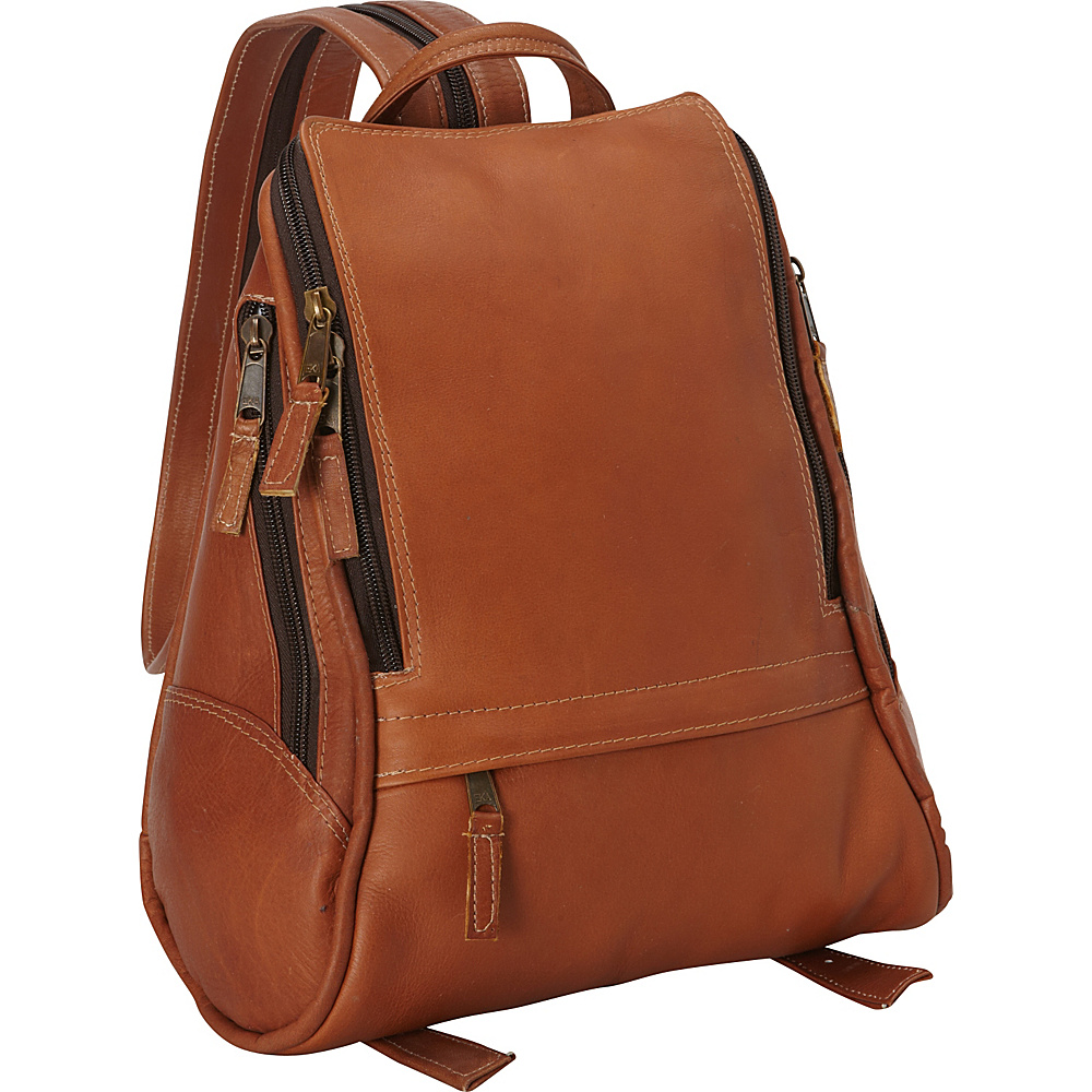 Latico Leathers Apollo Backpack - Medium Natural - Latico Leathers Leather Handbags