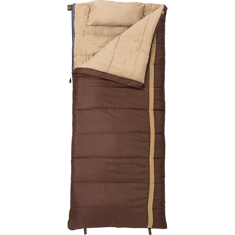 Slumberjack Timberjack 0 Degree Regular Right Hand Sleeping Bag Brown Slumberjack Outdoor Accessories
