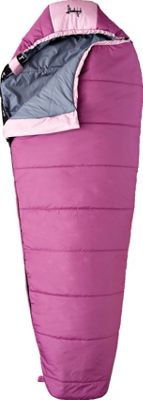 Slumberjack Girl Scout 30 Degree Short Right Hand Sleeping Bag Pink - Slumberjack Outdoor Accessories