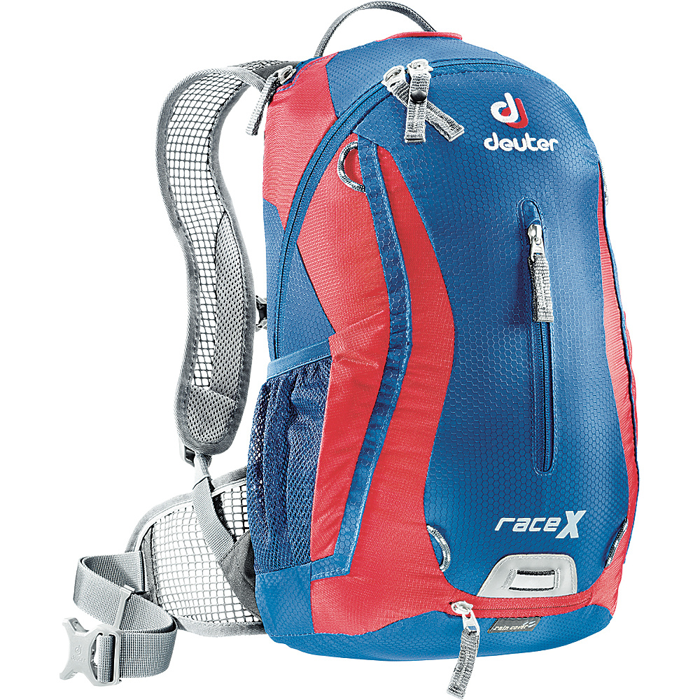 Deuter Race X w/ 3L Res. Hydration Backpack Steel/Fire - Deuter Hydration Packs