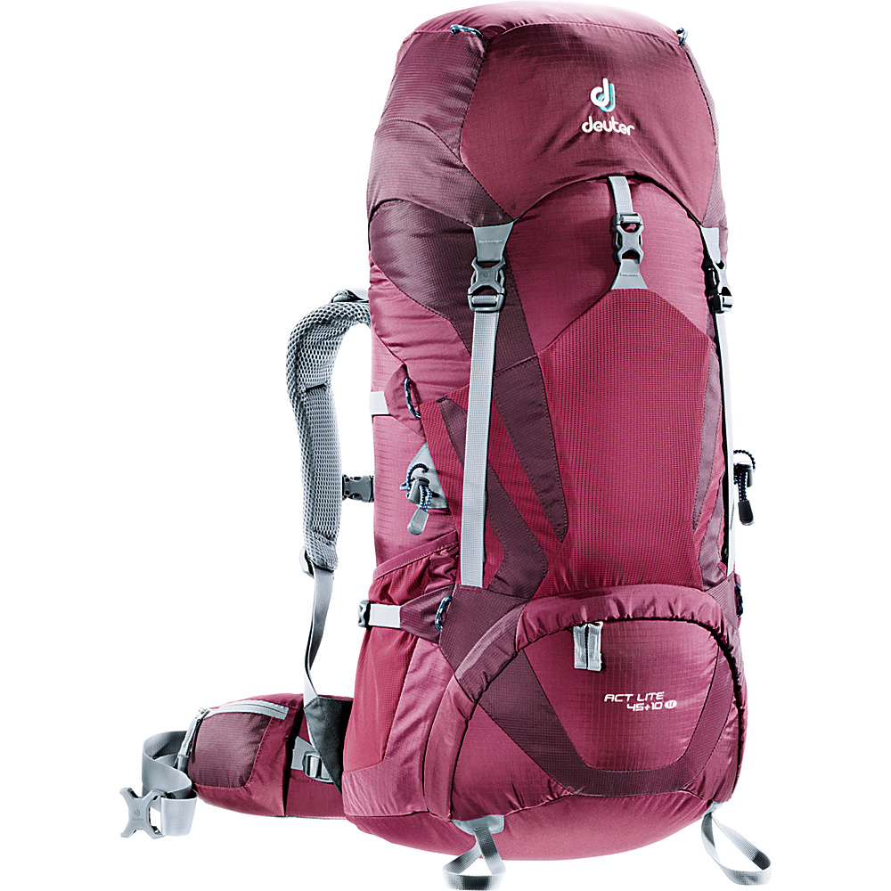 Deuter ACT Lite 45 10 SL Hiking Backpack Blackberry Aubergine Deuter Day Hiking Backpacks