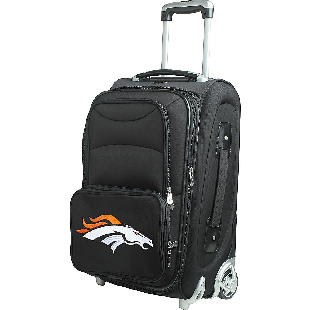 Denco Sports Luggage NFL 21 Wheeled Upright Denver Broncos - Denco Sports Luggage Softside Carry-On - Luggage, Softside Carry-On
