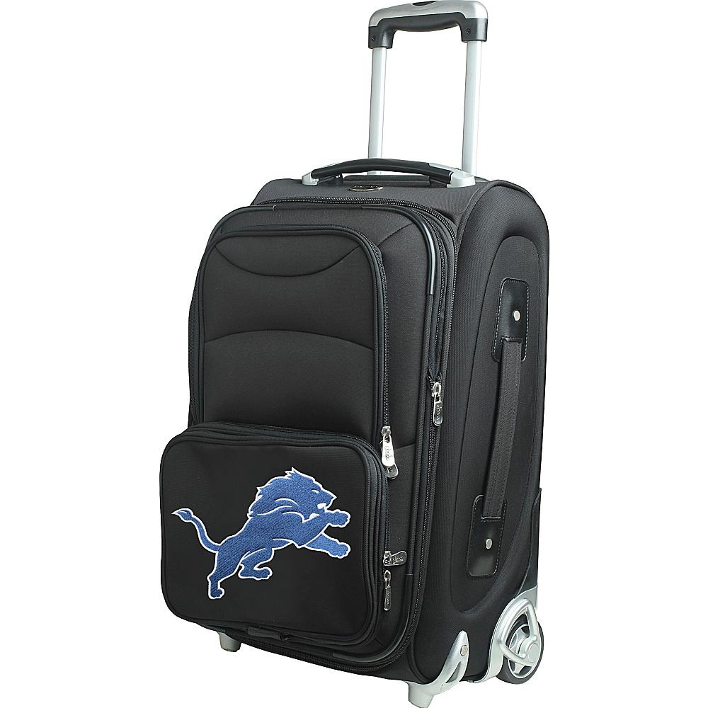 Denco Sports Luggage NFL 21 Wheeled Upright Detroit Lions - Denco Sports Luggage Softside Carry-On - Luggage, Softside Carry-On
