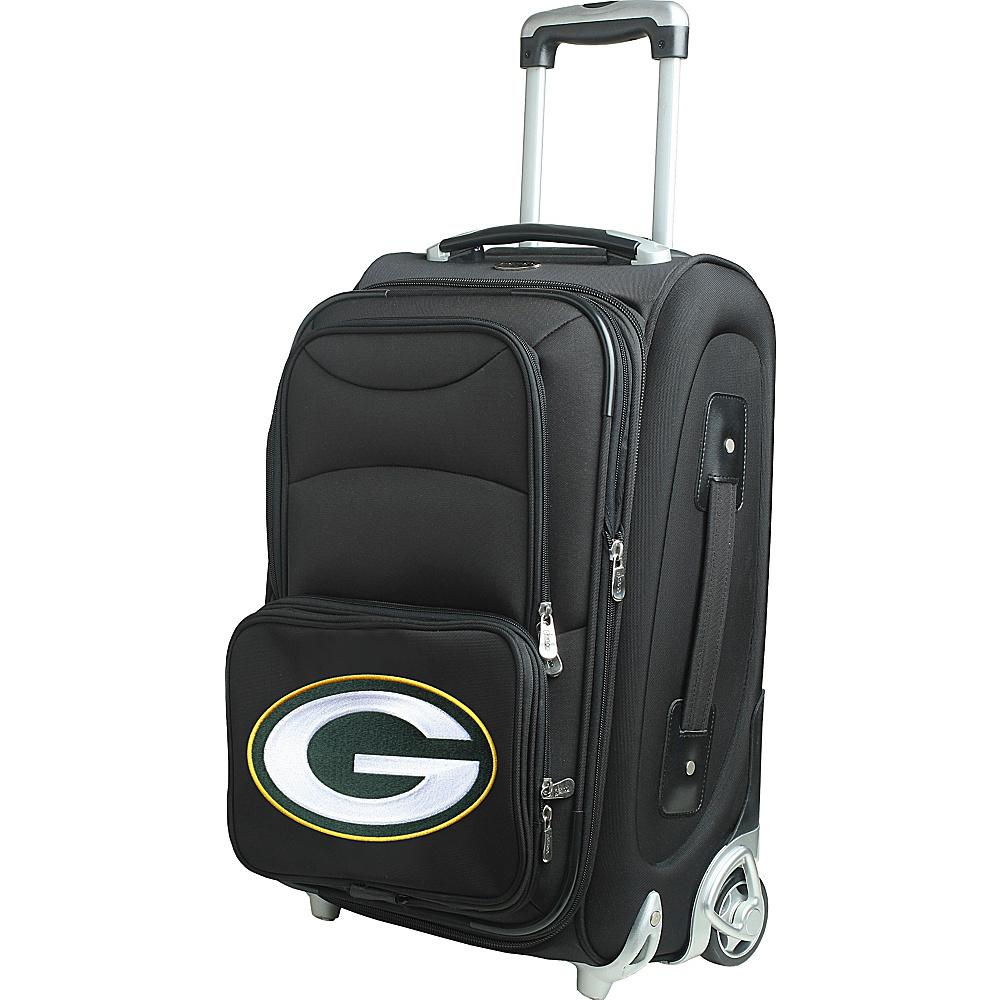 Denco Sports Luggage NFL 21 Wheeled Upright Green Bay Packers - Denco Sports Luggage Softside Carry-On - Luggage, Softside Carry-On