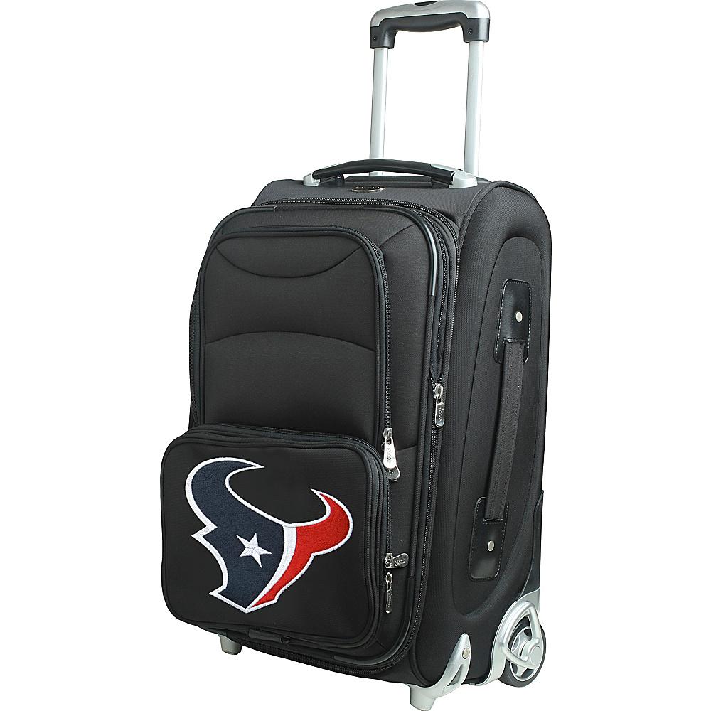Denco Sports Luggage NFL 21 Wheeled Upright Houston Texans - Denco Sports Luggage Softside Carry-On - Luggage, Softside Carry-On