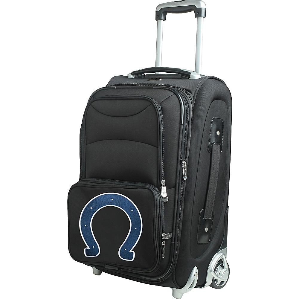 Denco Sports Luggage NFL 21 Wheeled Upright Indianapolis Colts - Denco Sports Luggage Softside Carry-On - Luggage, Softside Carry-On