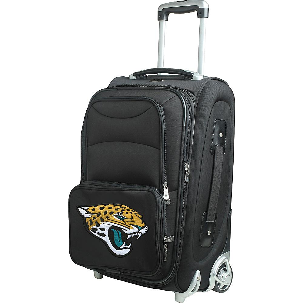 Denco Sports Luggage NFL 21 Wheeled Upright Jacksonville Jaguars - Denco Sports Luggage Softside Carry-On - Luggage, Softside Carry-On