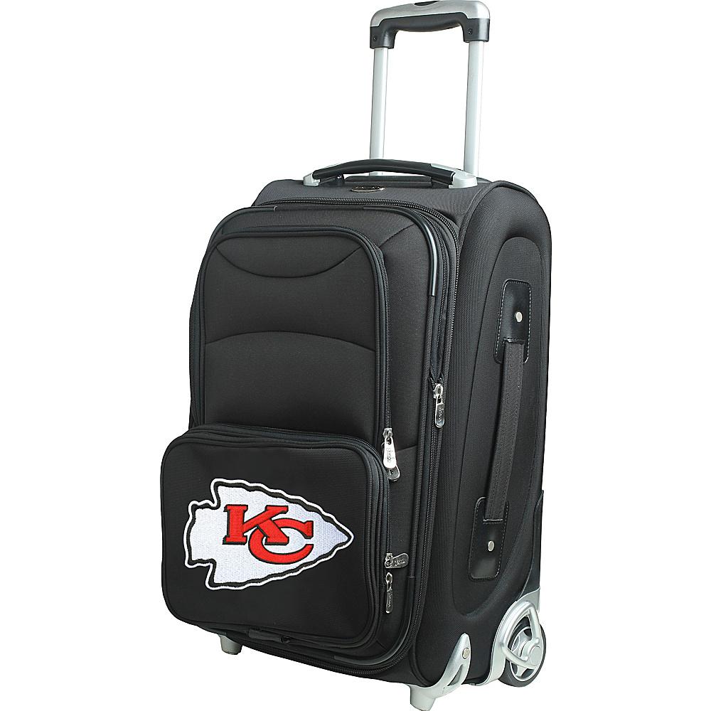 Denco Sports Luggage NFL 21 Wheeled Upright Kansas City Chiefs - Denco Sports Luggage Softside Carry-On - Luggage, Softside Carry-On