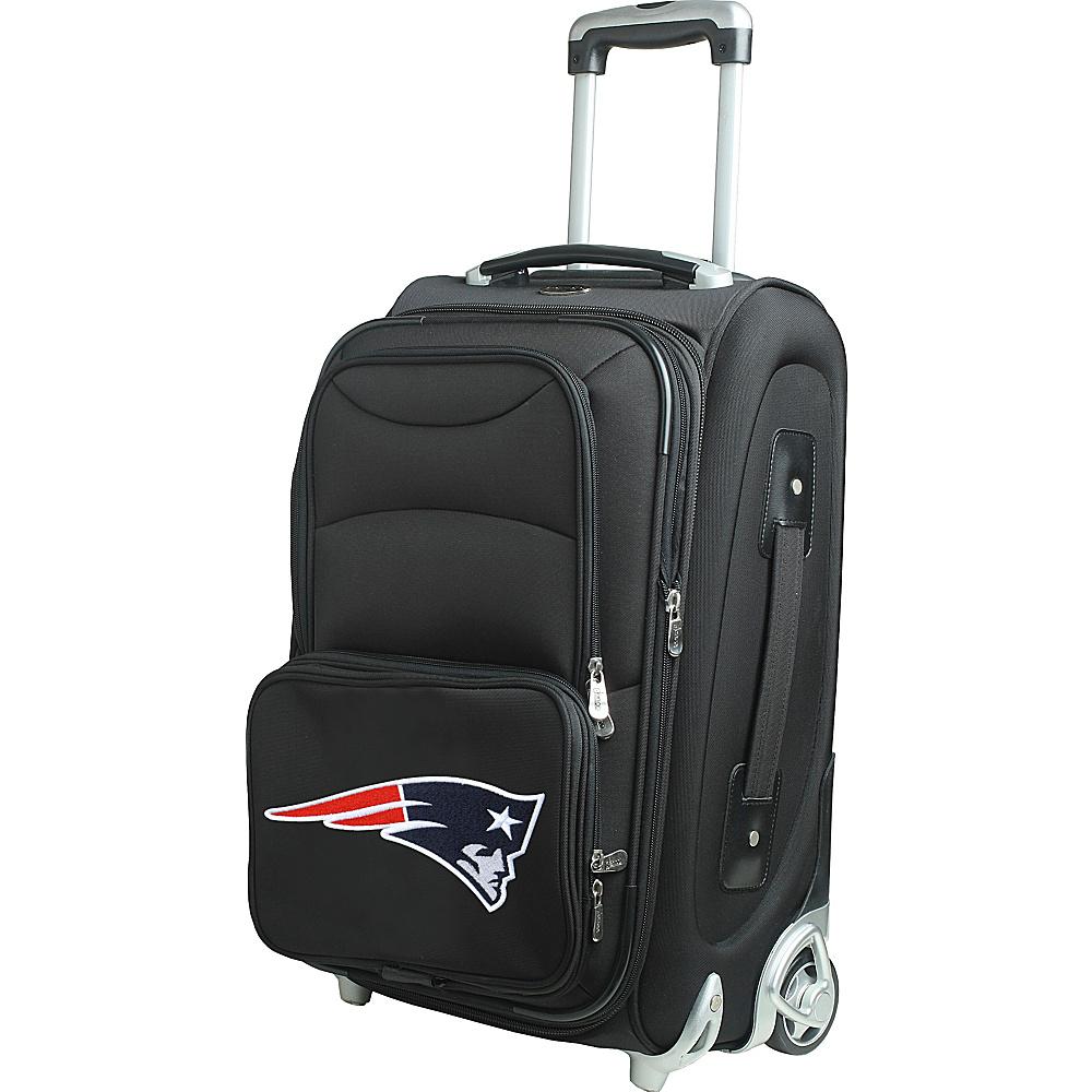 Denco Sports Luggage NFL 21 Wheeled Upright New England Patriots - Denco Sports Luggage Softside Carry-On - Luggage, Softside Carry-On