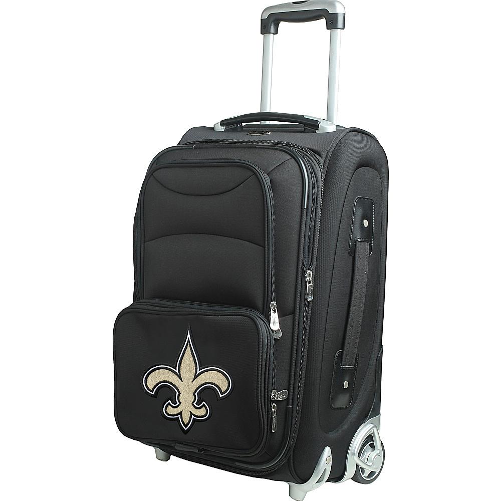 Denco Sports Luggage NFL 21 Wheeled Upright New Orleans Saints - Denco Sports Luggage Softside Carry-On - Luggage, Softside Carry-On