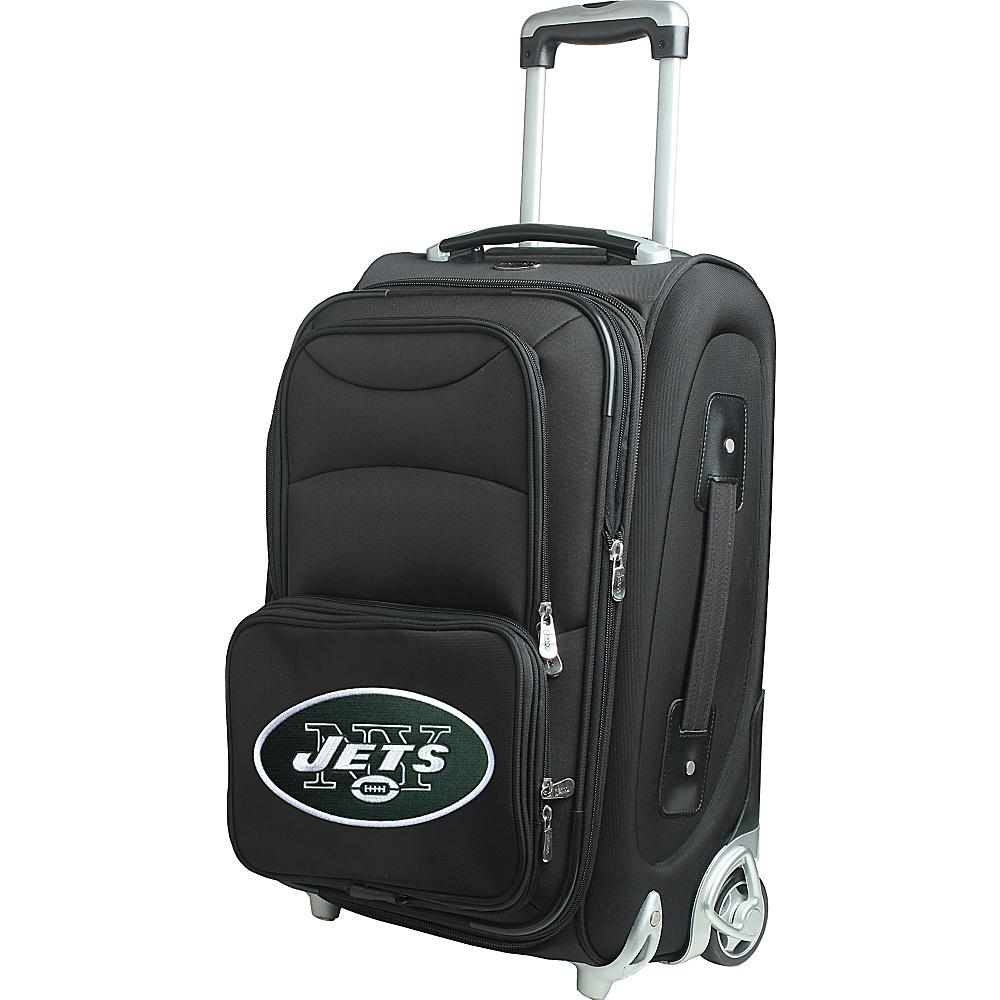 Denco Sports Luggage NFL 21 Wheeled Upright New York Jets - Denco Sports Luggage Softside Carry-On - Luggage, Softside Carry-On