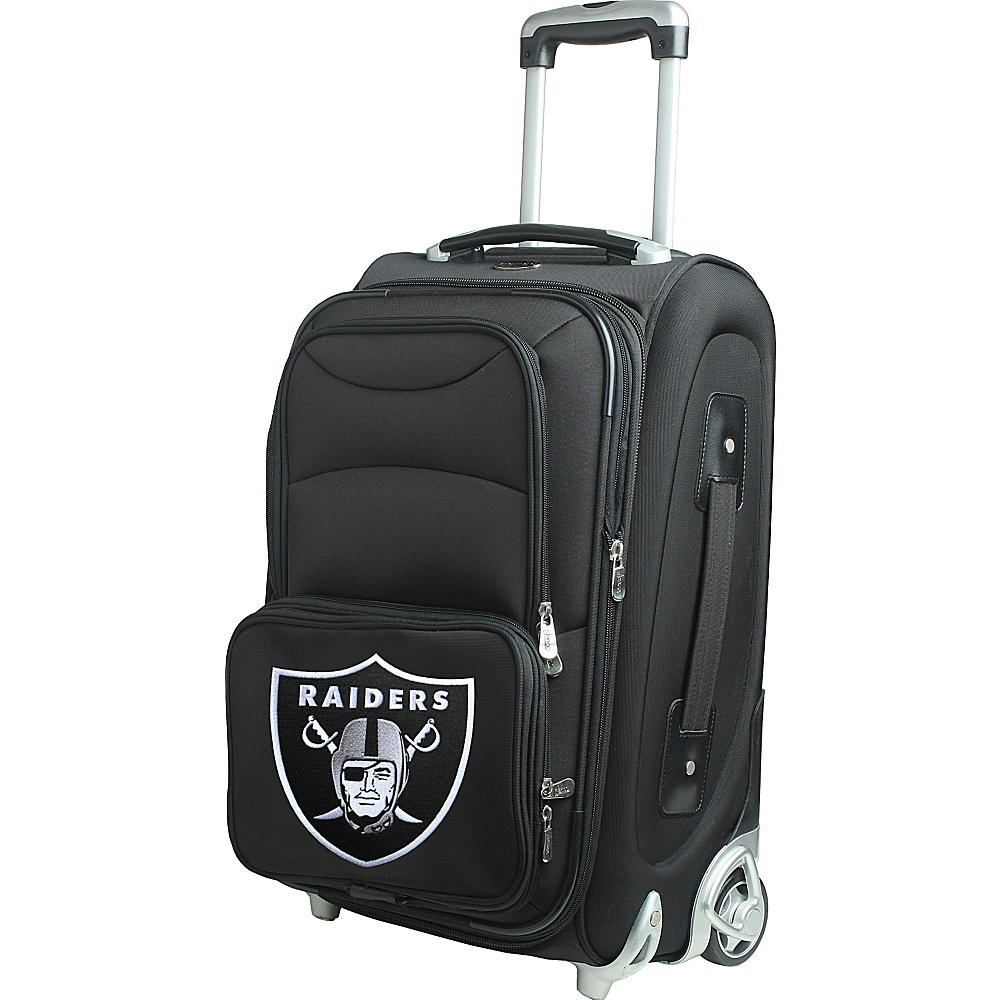 Denco Sports Luggage NFL 21 Wheeled Upright Oakland Raiders - Denco Sports Luggage Softside Carry-On - Luggage, Softside Carry-On