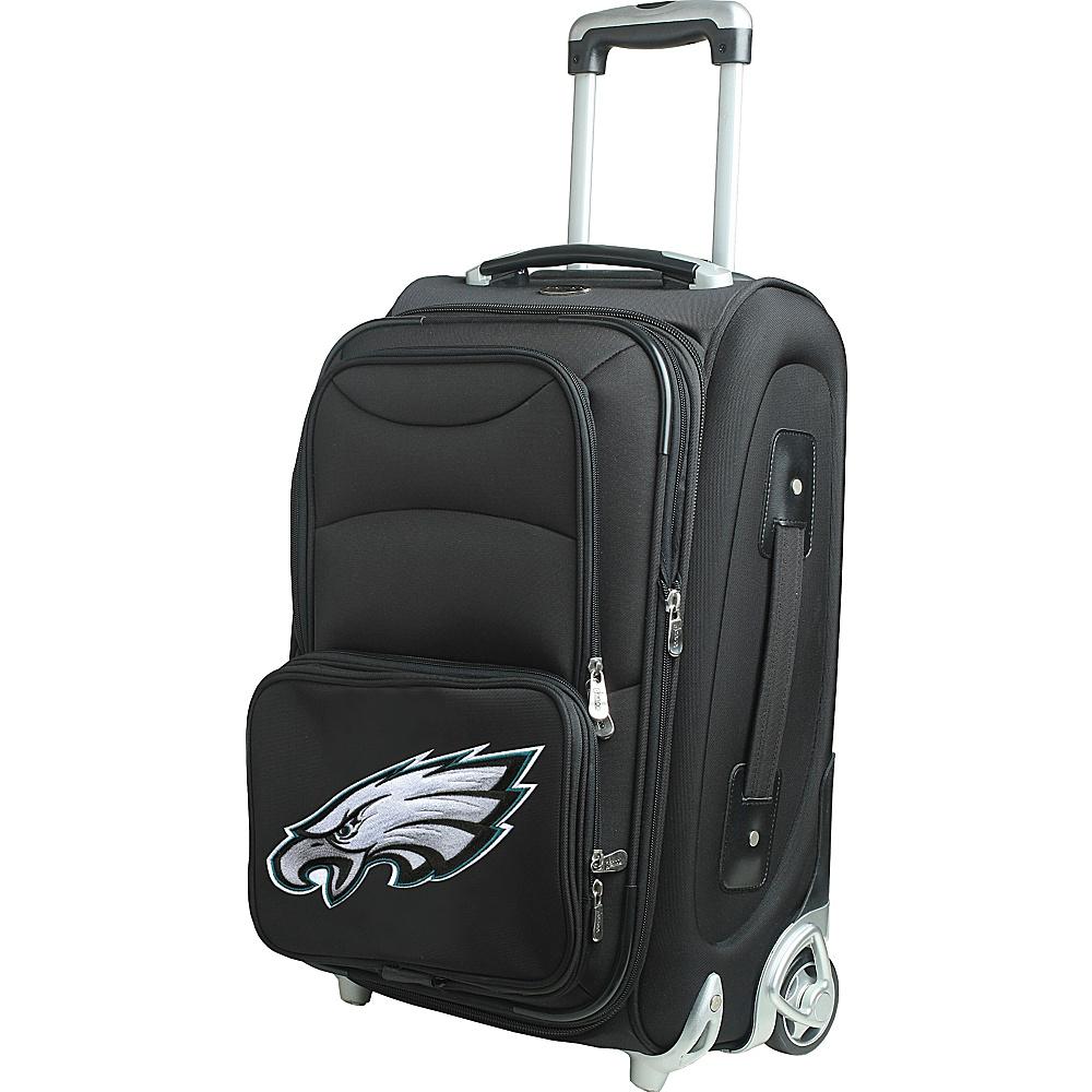 Denco Sports Luggage NFL 21 Wheeled Upright Philadelphia Eagles - Denco Sports Luggage Softside Carry-On - Luggage, Softside Carry-On
