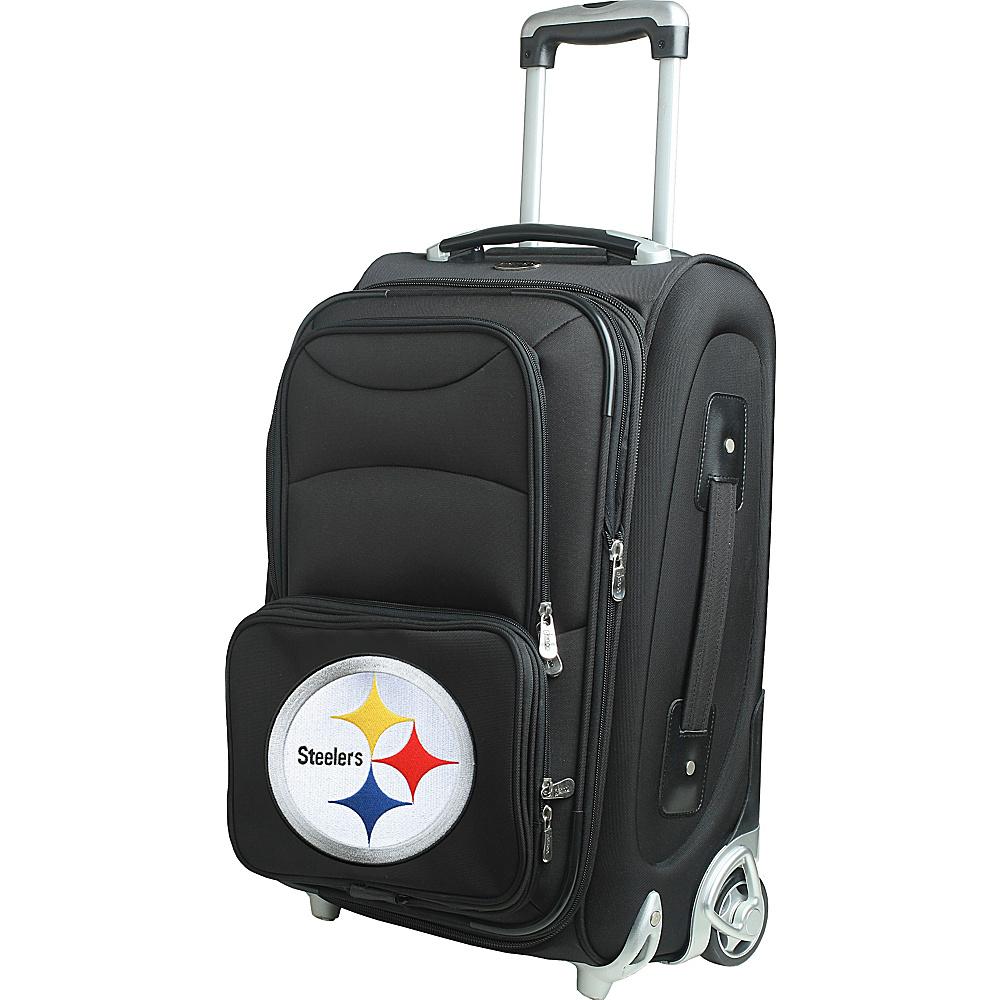 Denco Sports Luggage NFL 21 Wheeled Upright Pittsburgh Steelers - Denco Sports Luggage Softside Carry-On - Luggage, Softside Carry-On