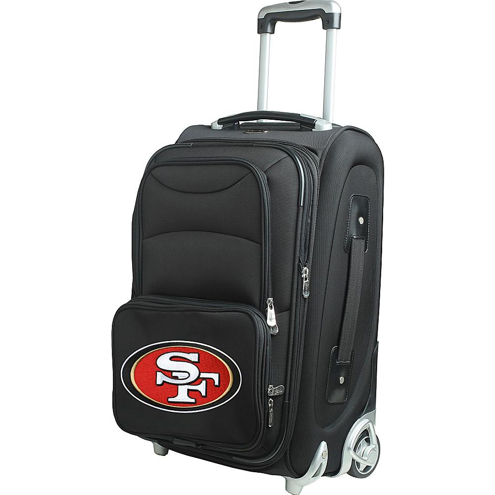 Denco Sports Luggage NFL 21 Wheeled Upright San Francisco 49ers - Denco Sports Luggage Softside Carry-On - Luggage, Softside Carry-On