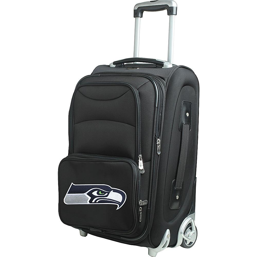 Denco Sports Luggage NFL 21 Wheeled Upright Seattle Seahawks - Denco Sports Luggage Softside Carry-On - Luggage, Softside Carry-On