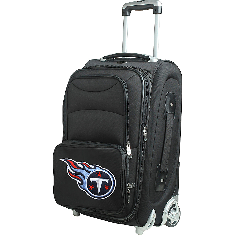 Denco Sports Luggage NFL 21 Wheeled Upright Tennessee Titans - Denco Sports Luggage Softside Carry-On - Luggage, Softside Carry-On