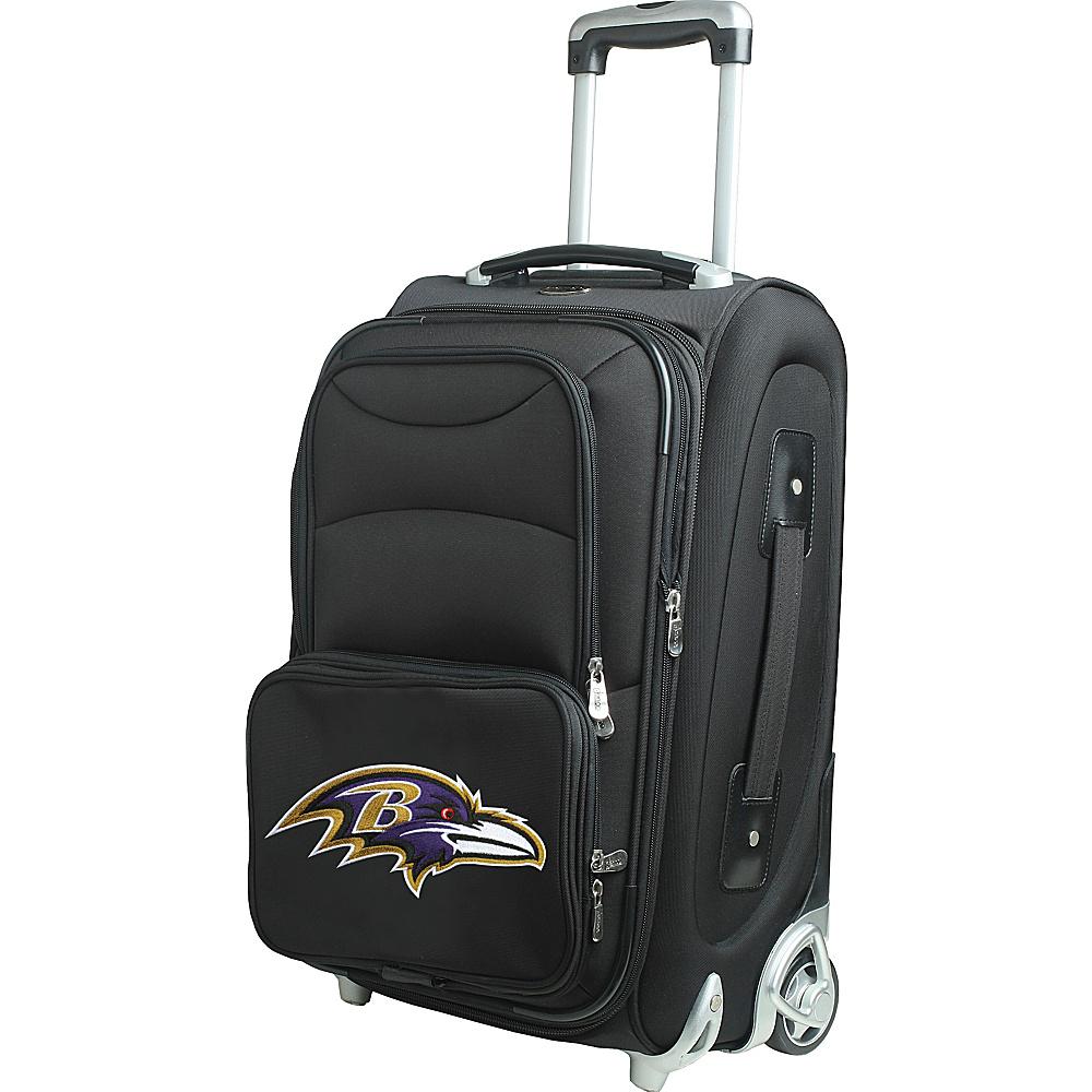 Denco Sports Luggage NFL 21 Wheeled Upright Baltimore Ravens - Denco Sports Luggage Softside Carry-On - Luggage, Softside Carry-On