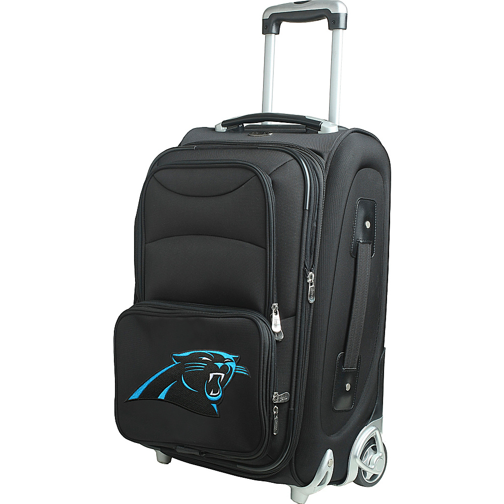 Denco Sports Luggage NFL 21 Wheeled Upright Carolina Panthers - Denco Sports Luggage Softside Carry-On - Luggage, Softside Carry-On