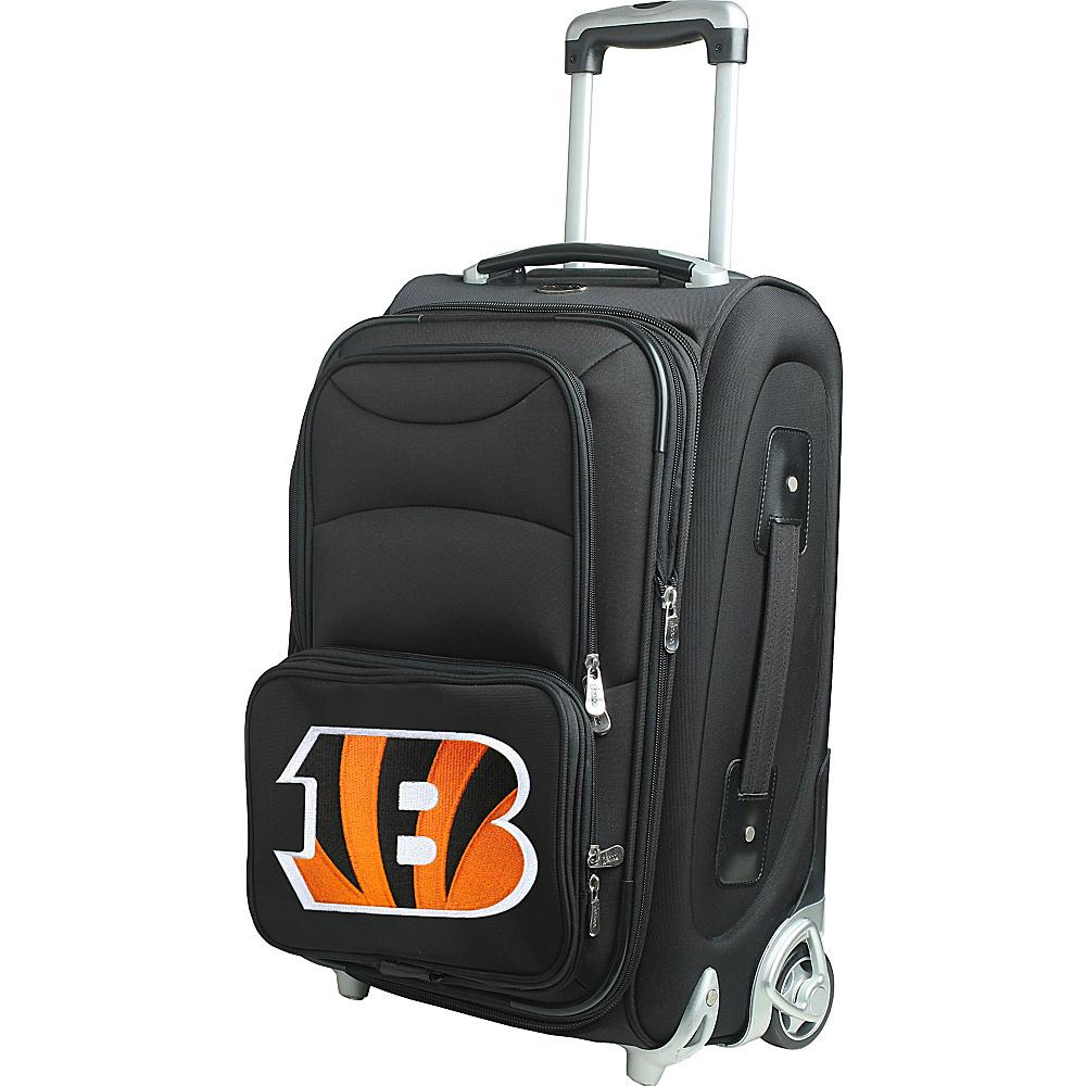 Denco Sports Luggage NFL 21 Wheeled Upright Cincinnati Bengals - Denco Sports Luggage Softside Carry-On - Luggage, Softside Carry-On