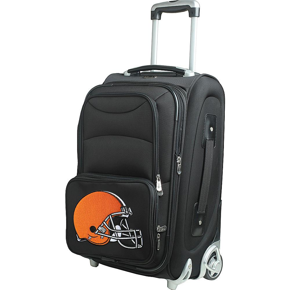 Denco Sports Luggage NFL 21 Wheeled Upright Cleveland Browns - Denco Sports Luggage Softside Carry-On - Luggage, Softside Carry-On