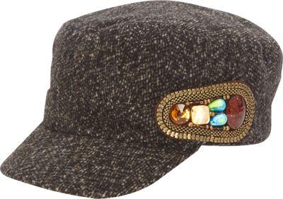 Magid Glove Tweed Wool Cadet Cap with Stone Side Trim One...