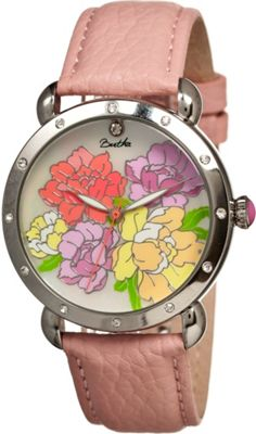 Bertha Watches Angela Watch Coral/Multicolor - Bertha Watches Watches