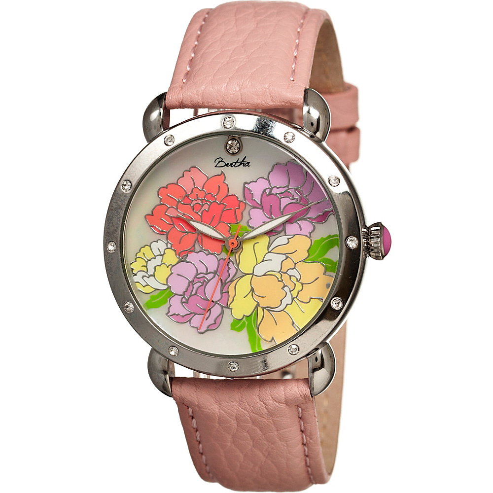 Bertha Watches Angela Watch Coral Multicolor Bertha Watches Watches
