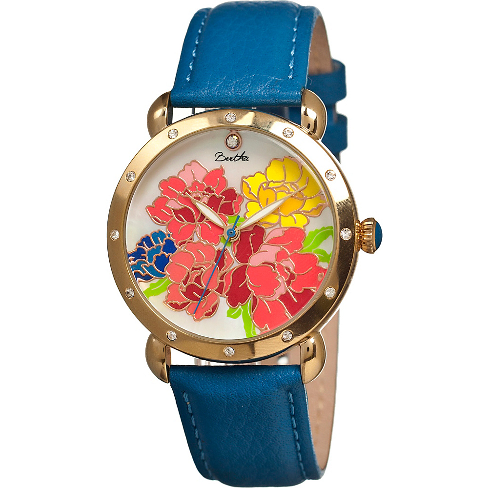 Bertha Watches Angela Watch Blue Multicolor Bertha Watches Watches