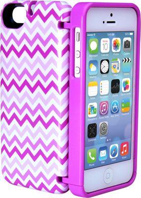 eyn case iPhone 5/5s/SE Wallet/Storage Case Chevron - eyn case Electronic Cases