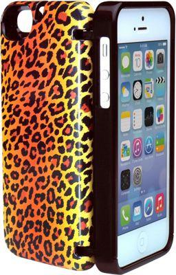 eyn case iPhone 5/5s/SE Wallet/Storage Case Leopard - eyn case Electronic Cases