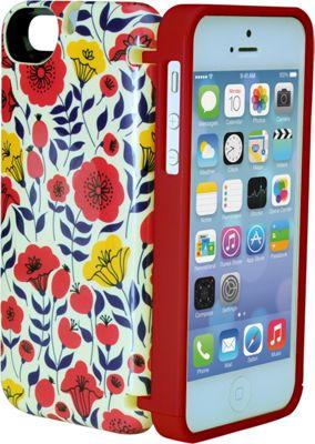 eyn case iPhone 5/5s/SE Wallet/Storage Case Floral - eyn case Electronic Cases