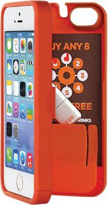 eyn case iPhone 5/5s/SE Wallet/Storage Case Orange - eyn case Electronic Cases