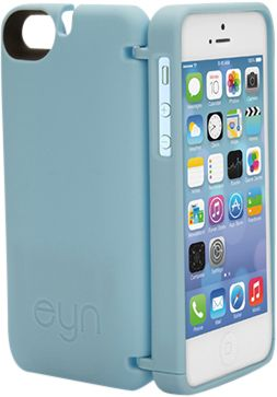 eyn case iPhone 5/5s/SE Wallet/Storage Case Blue - eyn case Electronic Cases