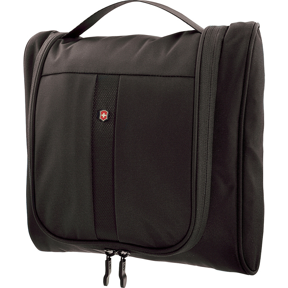 Victorinox Lifestyle Accessories 4.0 Hanging Cosmetic Case Black Victorinox Toiletry Kits