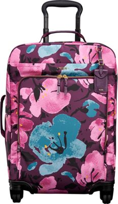 Tumi Voyageur Super Leger International Carry On Peony Floral - Tumi Small Rolling Luggage