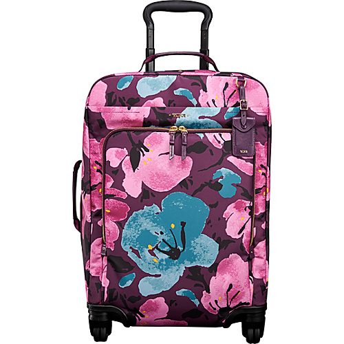 Tumi Voyageur Super Leger International Carry On Peony Floral Tumi Small Rolling Luggage