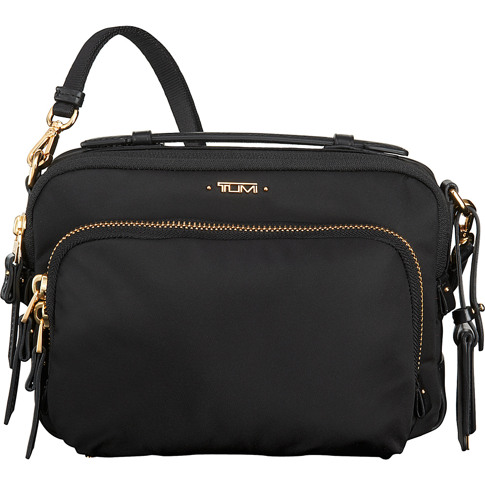 Tumi Voyageur Luanda Flight bag Black - Tumi Fabric Handbags - Handbags, Fabric Handbags