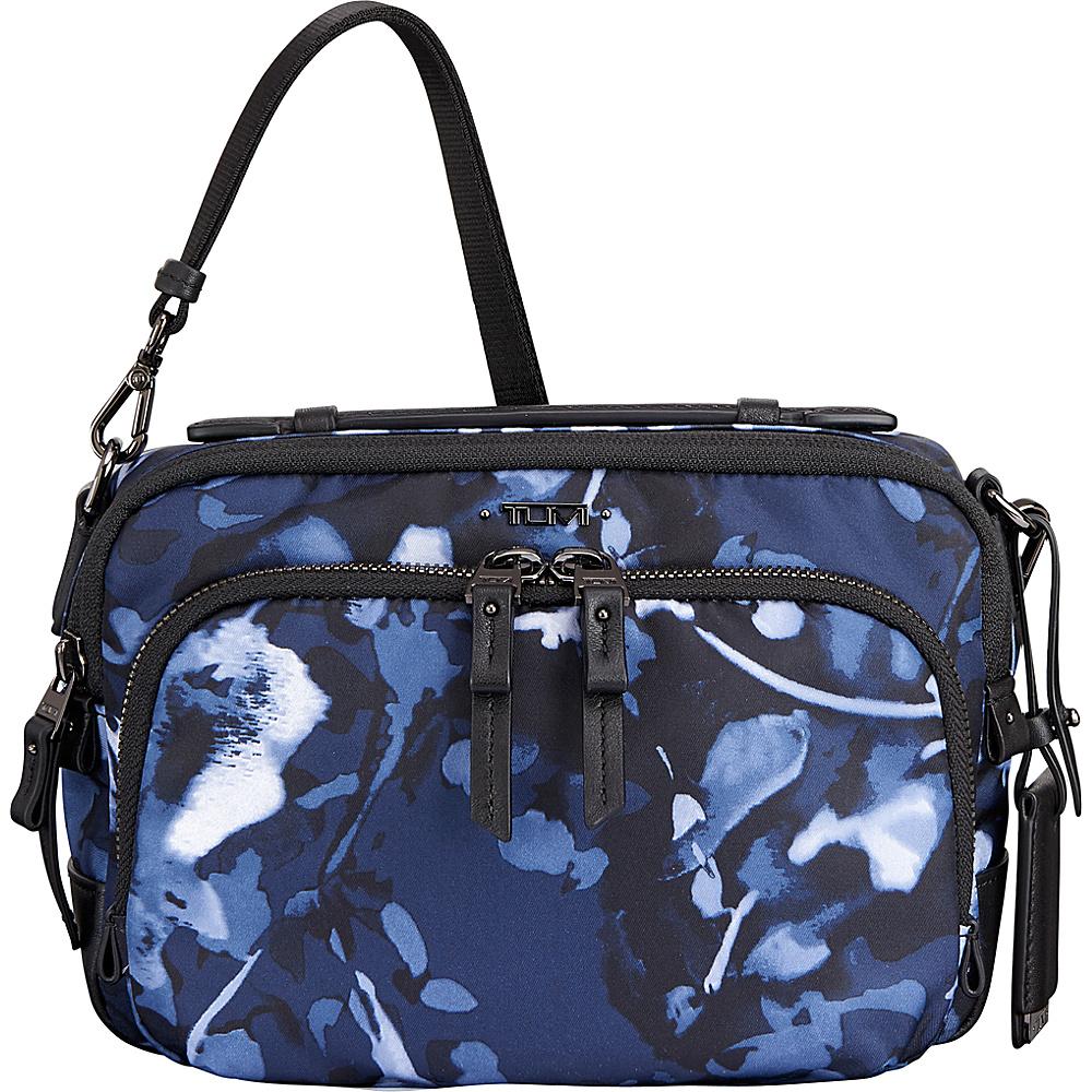 Tumi Voyageur Luanda Flight bag Indigo Floral - Tumi Designer Handbags