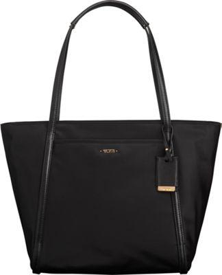 Tumi Voyageur Small Q-Tote Black - Tumi Designer Handbags