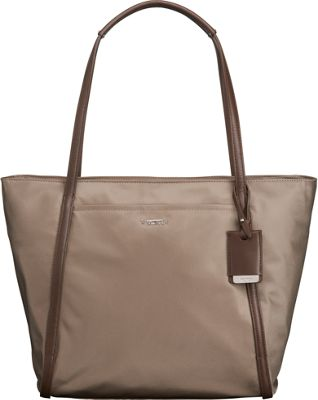 Tumi Voyageur Small Q-Tote Fossil - Tumi Designer Handbags