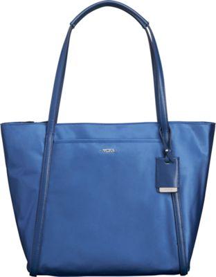 Tumi Voyageur Small Q-Tote Periwinkle - Tumi Designer Handbags