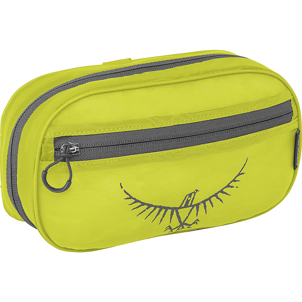Osprey Ultralight Zip Organizer Electric Lime Osprey Toiletry Kits