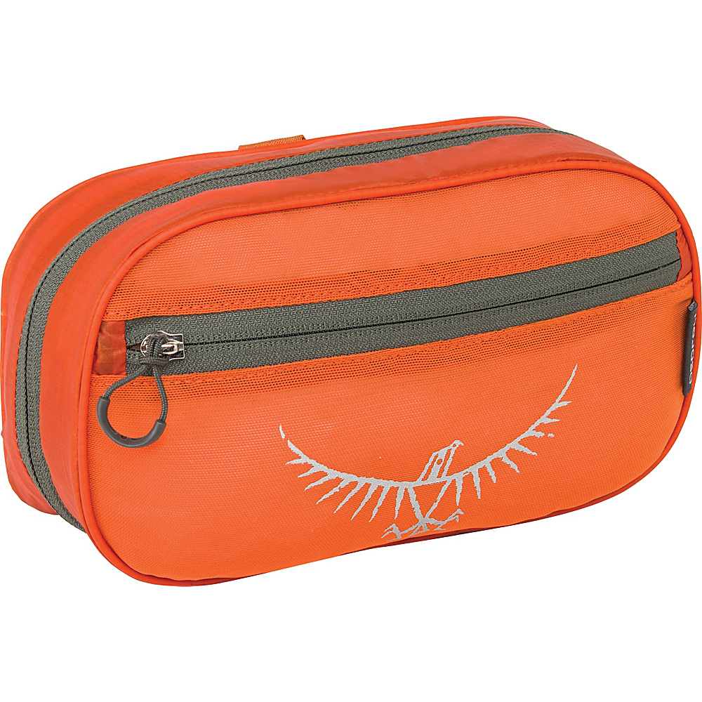 Osprey Ultralight Zip Organizer Poppy Orange Osprey Toiletry Kits