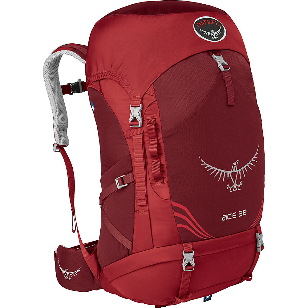 Osprey Ace 38 Kid s Paprika Red Osprey Backpacking Packs