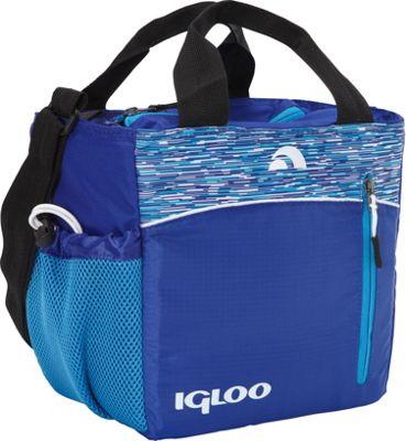 Igloo Mini City 9 Insulated Stowe - Blue Blue - Igloo Travel Coolers