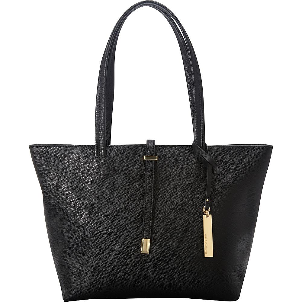 Vince Camuto Leila Small Tote Black Vince Camuto Designer Handbags