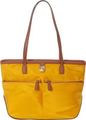 MICHAEL Michael Kors Kempton Medium Pocket Tote Sun - MICHAEL Michael Kors Designer Handbags
