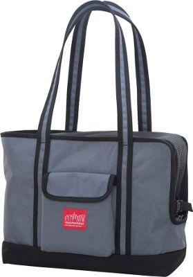 Manhattan Portage Pet Carrier Tote Bag Version 2 Black, Grey - Manhattan Portage Pet Bags