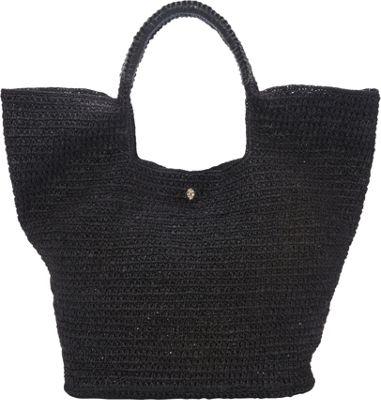 Helen Kaminski Pinamara Large Shoulder Bag Charcoal/Black - Helen Kaminski Designer Handbags